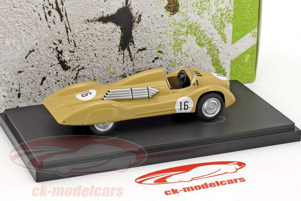 Moskvich G2 #16 année de construction 1959 beige 1:43 AutoCult