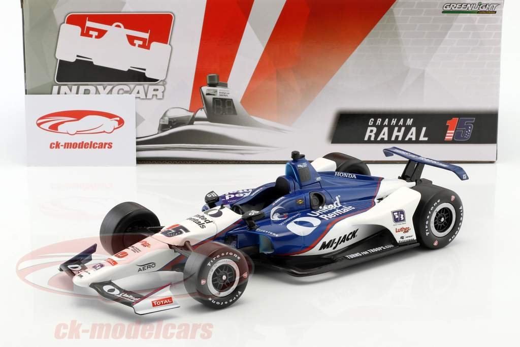 Graham Rahal Honda #15 IndyCar Series 2018 Rahal Letterman Lanigan Racing 1:18 Greenlight