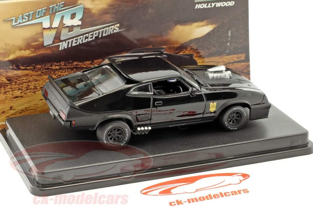 Ford Falcon XB Construction year 1973 Movie Last of the V8 Interceptors (1979) black 1:43 Greenlight