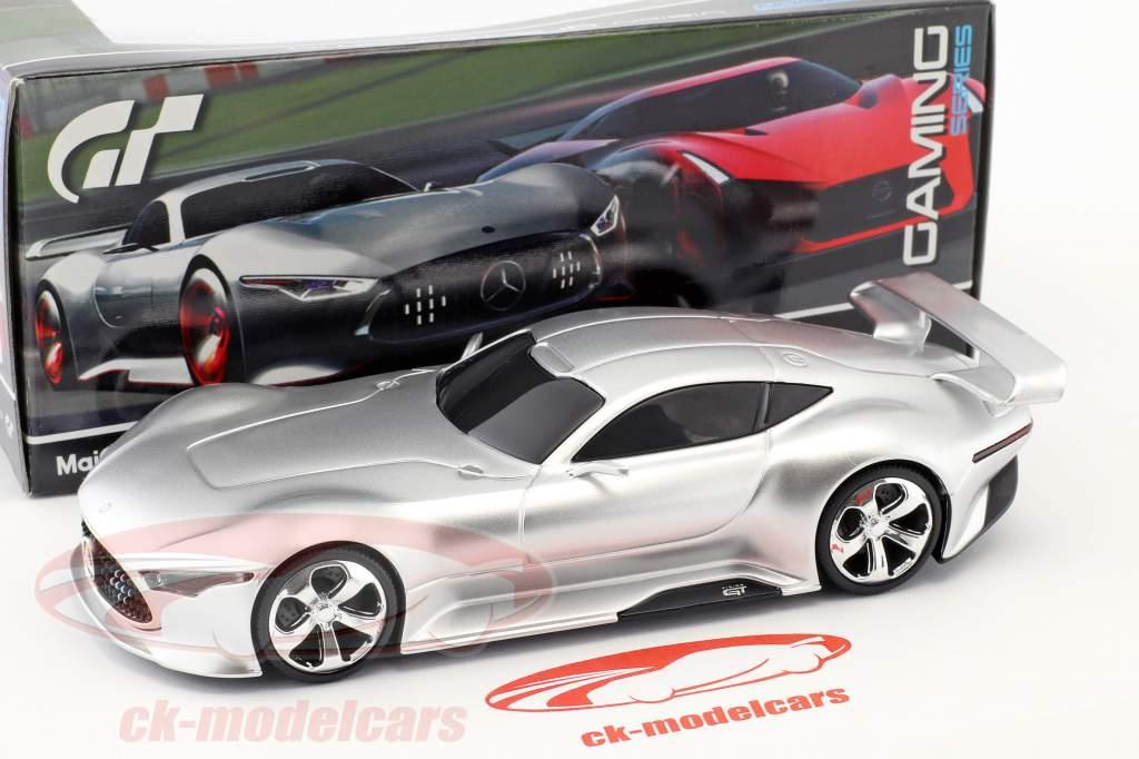 Mercedes-Benz AMG Vision Gran Turismo silver 1:32 Maisto