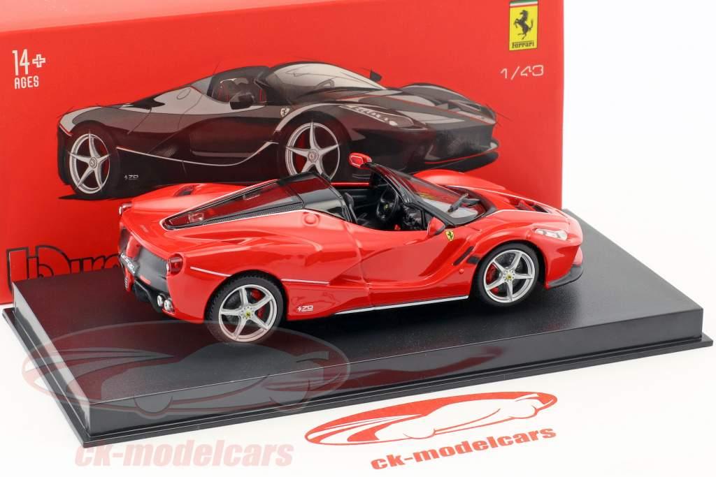 Ferrari LaFerrari Aperta red 1:43 Bburago Signature