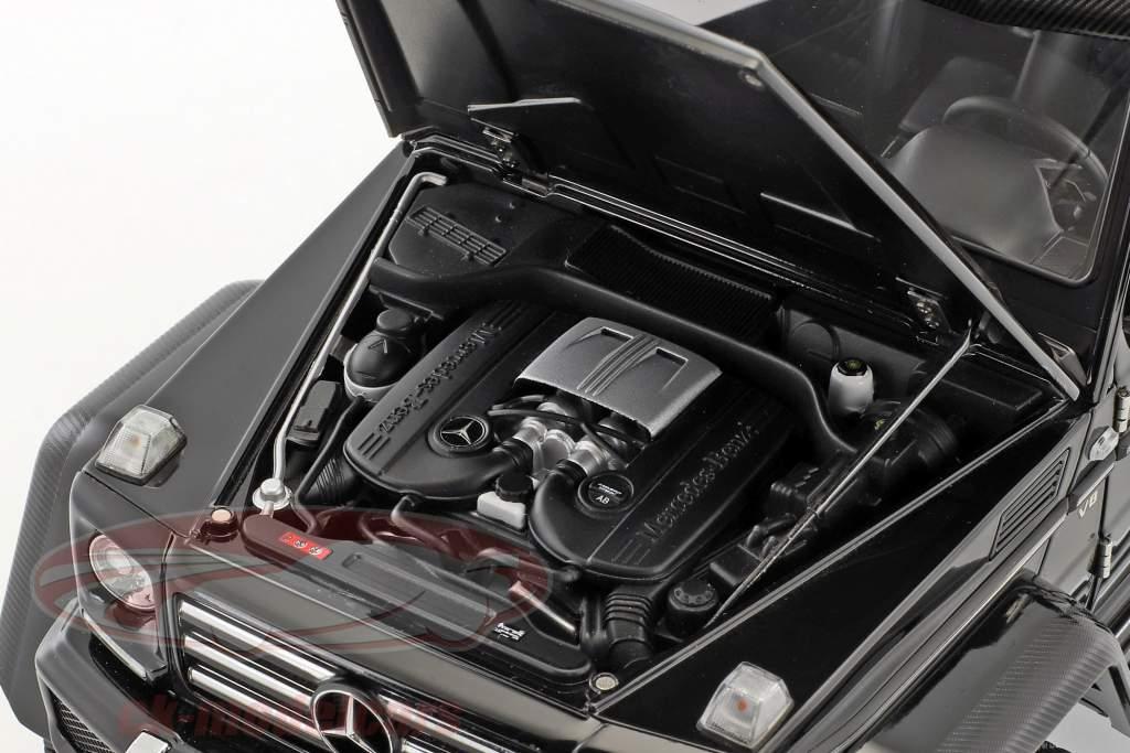 Mercedes-Benz G-Class G500 4x4² année de construction 2016 brillant noir 1:18 AUTOart