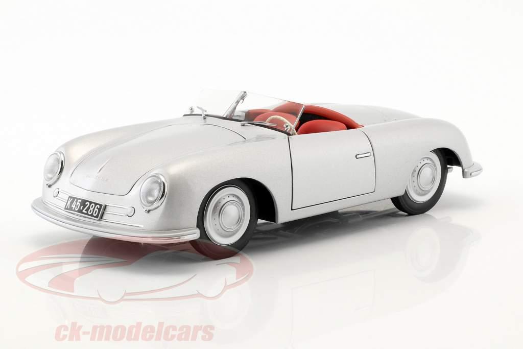 Porsche 356 número 1 año de construcción 1948 plata 1:18 AUTOart