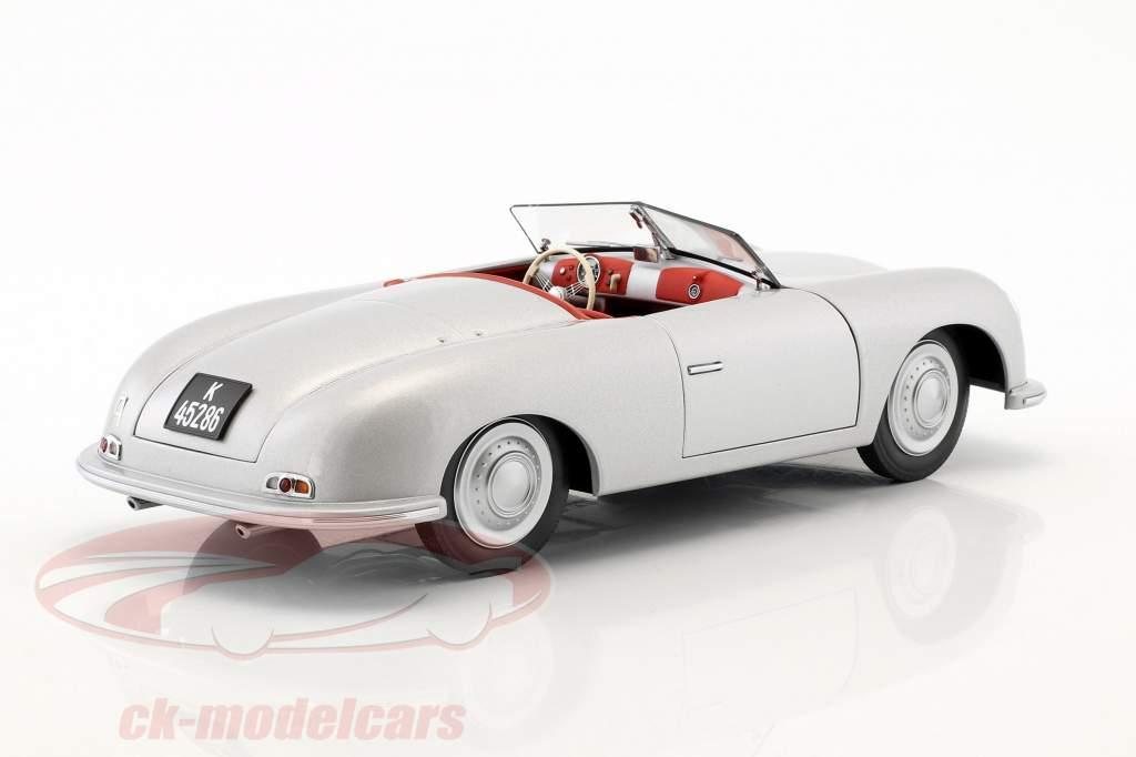 Porsche 356 number 1 year 1948 silver 1:18 AUTOart