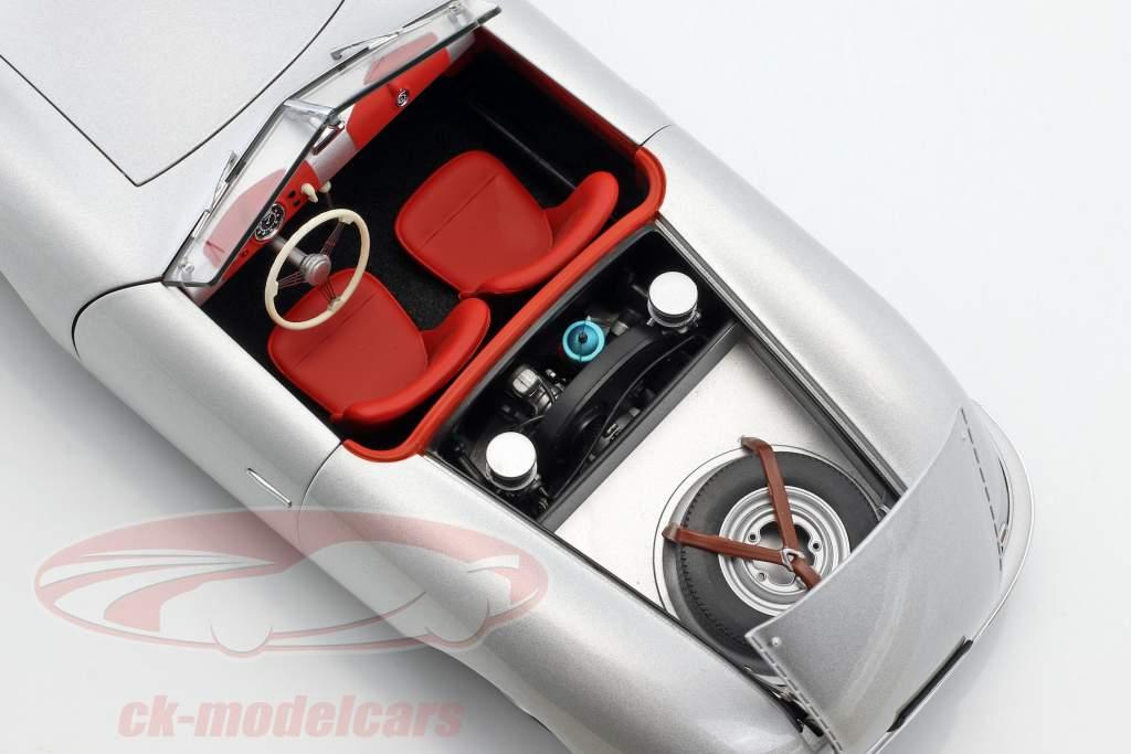 Porsche 356 número 1 ano de construção 1948 prata 1:18 AUTOart
