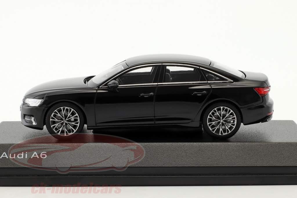 Audi A6 C8 sedan myte sort 1:43 iScale