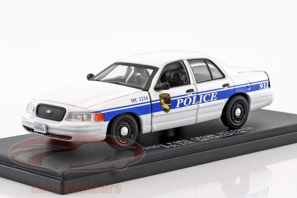 Ford Crown Victoria Police Interceptor anno di costruzione 2003 serie TV MacGyver (dal 2016) 1:43 Greenlight