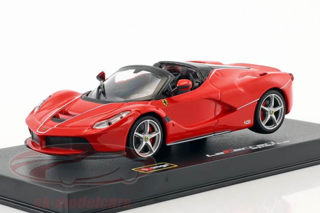 Ferrari LaFerrari Aperta rød 1:43 Bburago Signature