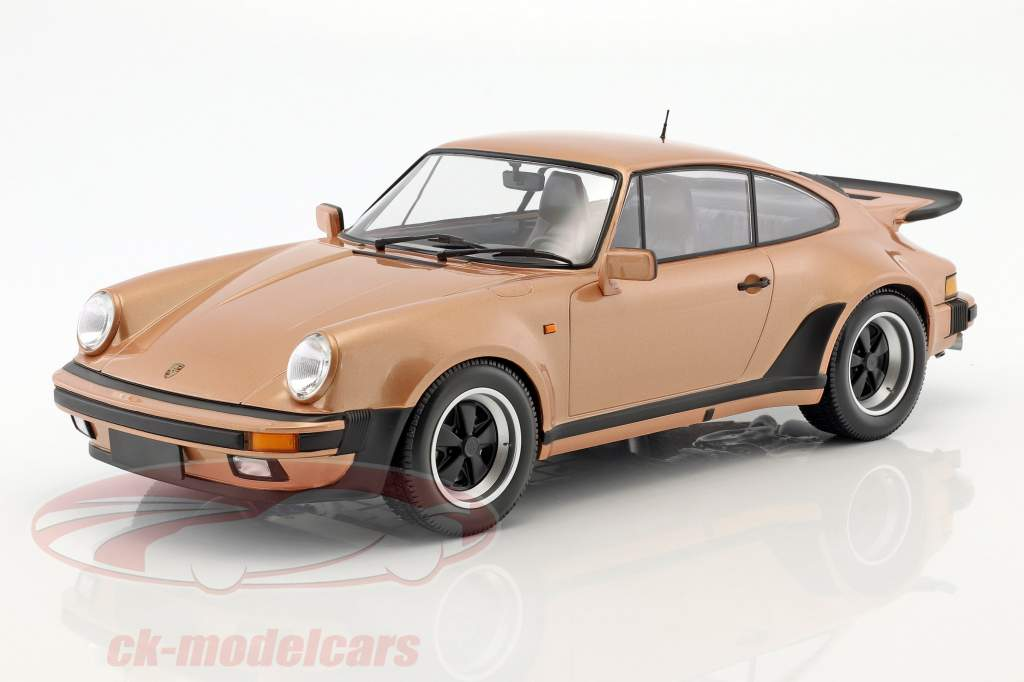 Porsche 911 (930) Turbo year 1977 pink metallic 1:12 Minichamps