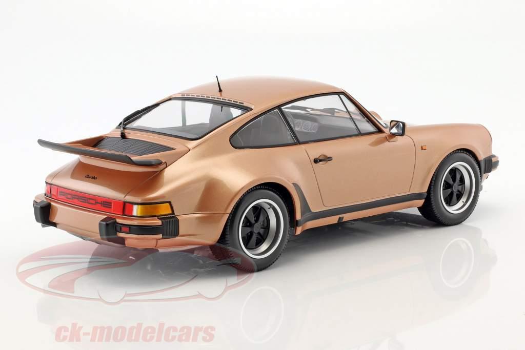 Porsche 911 (930) Turbo anno di costruzione 1977 rosa metallico 1:12 Minichamps