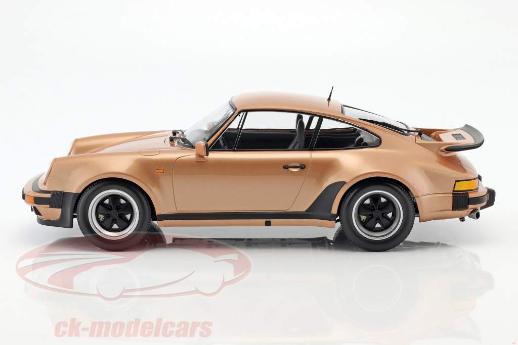 Porsche 911 (930) Turbo Baujahr 1977 pink metallic 1:12 Minichamps