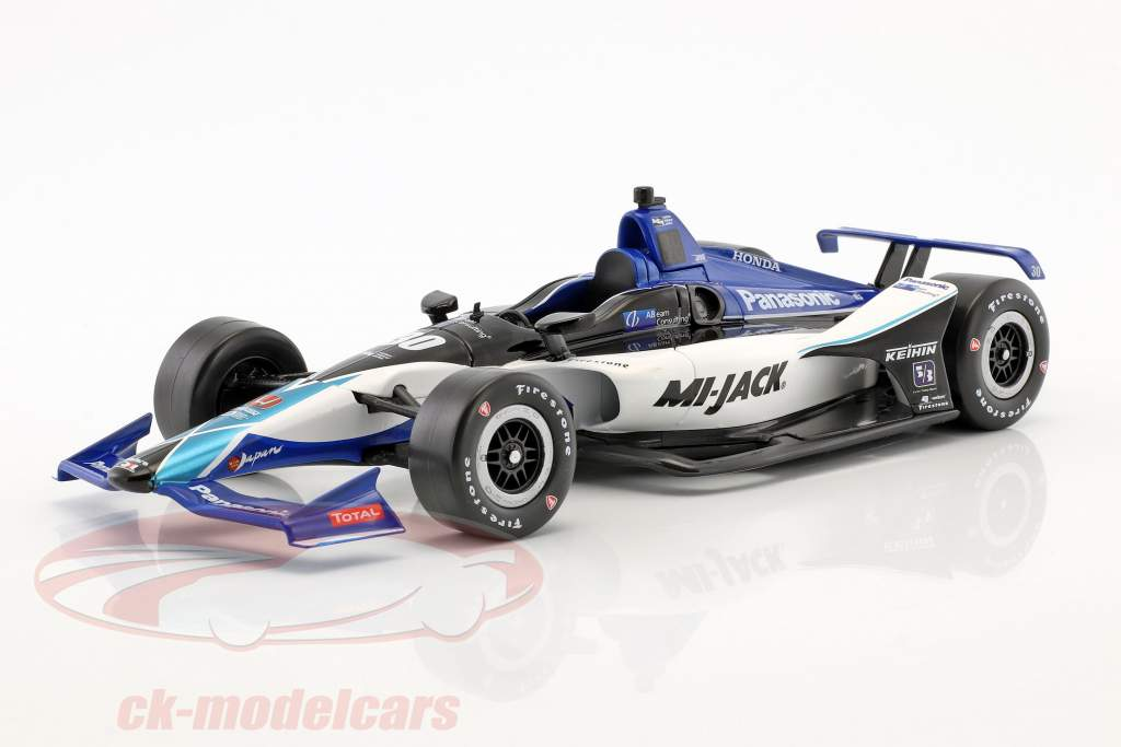 Takuma Sato Honda #30 IndyCar Series 2018 Rahal Letterman Lanigan Racing 1:18 Greenlight