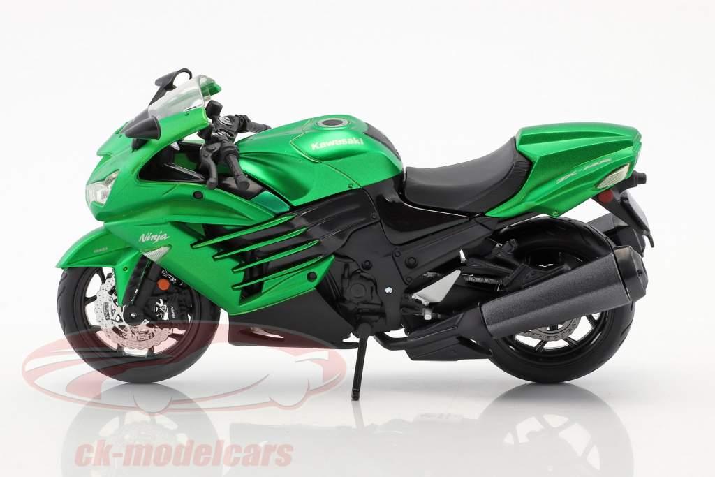 Kawasaki Ninja ZX-14R montaggio kit verde 1:12 Maisto
