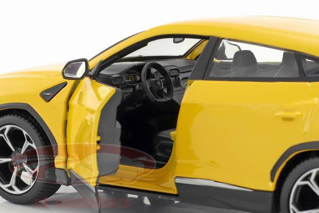 Lamborghini Urus amarelo 1:24 Maisto