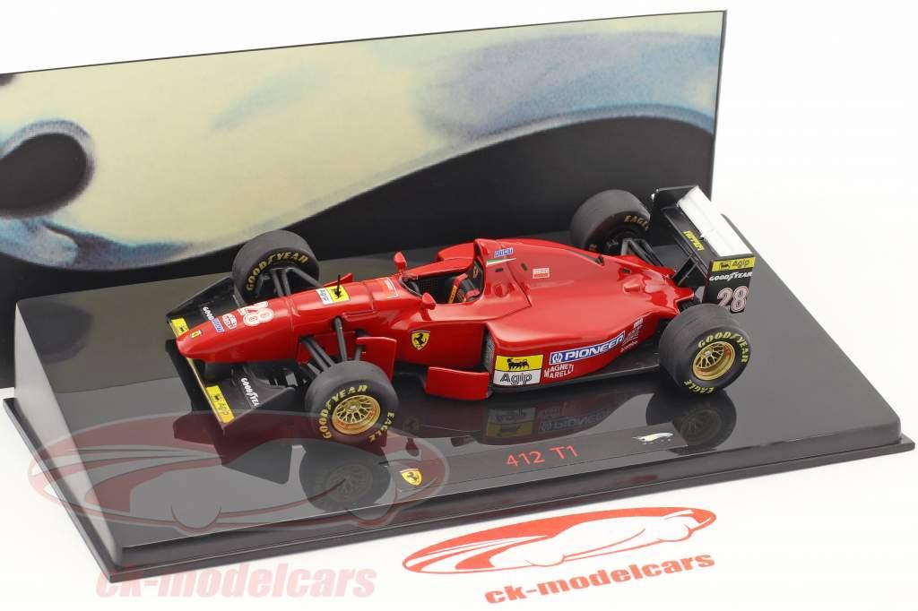 G.Berger Ferrari 412T1 Winner GermanGP Hockenheim formula one 1994 1:43 HW Elite