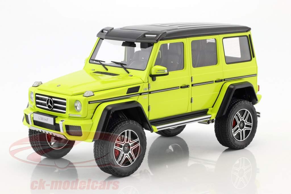 Mercedes-Benz G-Klasse G500 4x4² Baujahr 2016 gelb 1:18 AUTOart