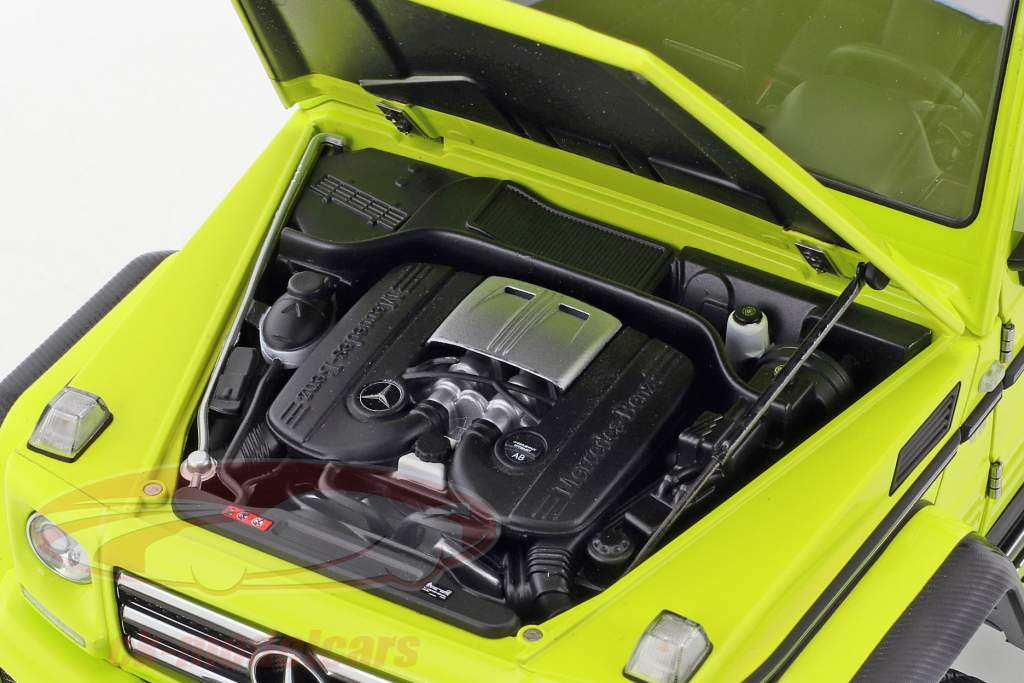 Mercedes-Benz G-Klasse G500 4x4² Bouwjaar 2016 geel 1:18 AUTOart
