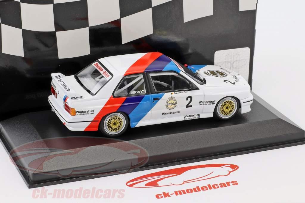 BMW M3 (E30) #2 DTM Campeón 1987 Eric van de Poele 1:43 Minichamps