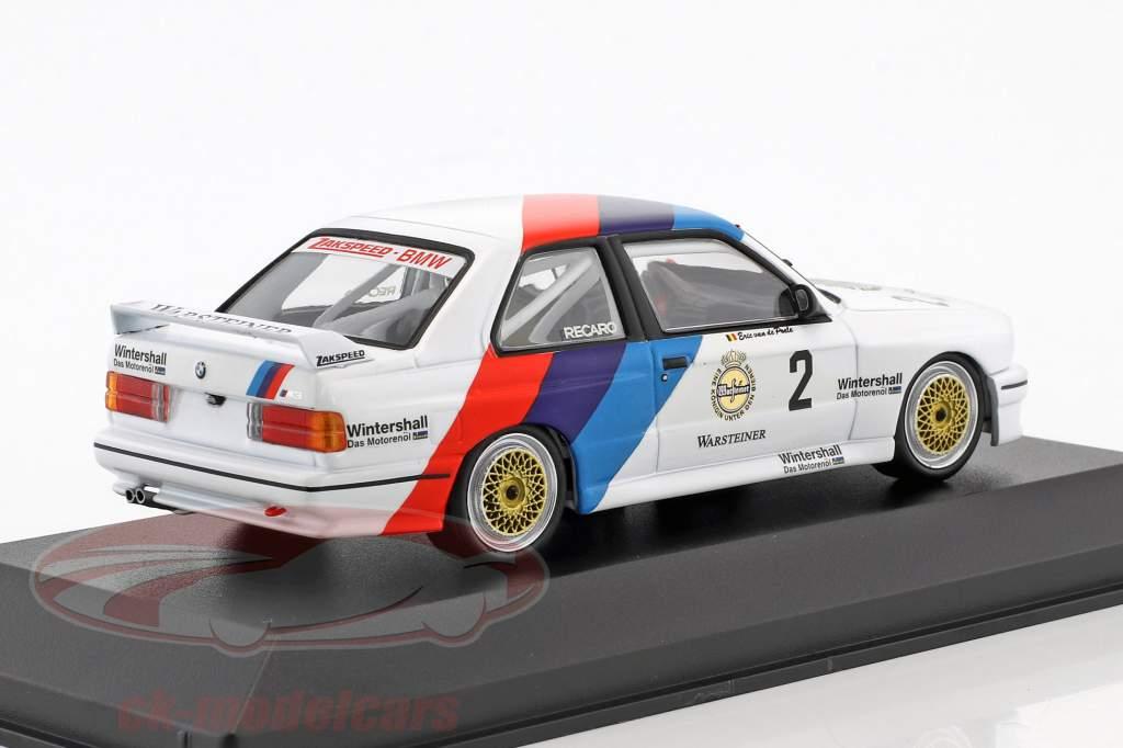 BMW M3 (E30) #2 DTM Campeão 1987 Eric van de Poele 1:43 Minichamps