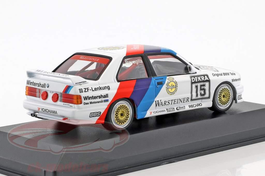 BMW M3 (E30) #15 DTM Champion 1989 Roberto Ravaglia 1:43 Minichamps