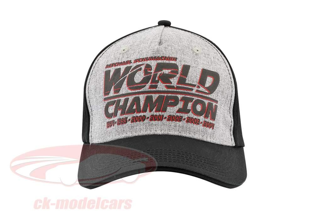 Michael Schumacher Cap Racing / formule 1 wereld kampioen 1994, 1995, 2000, 2001, 2002, 2003, 2004