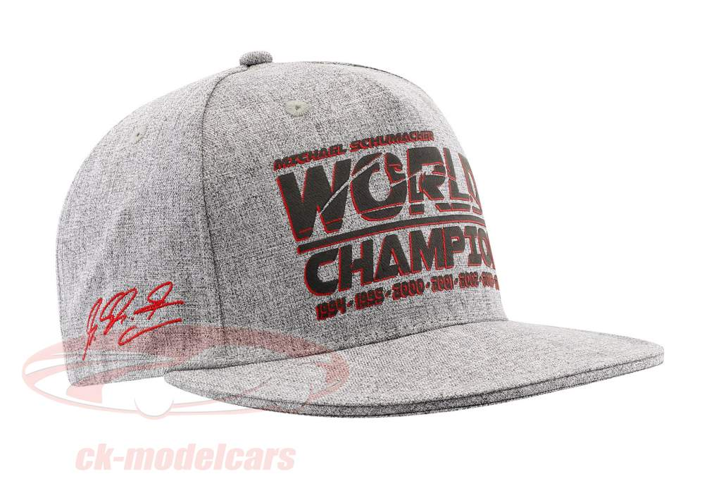 Michael Schumacher Cap Racing / formula 1 World Champion 1994, 1995, 2000, 2001, 2002, 2003, 2004