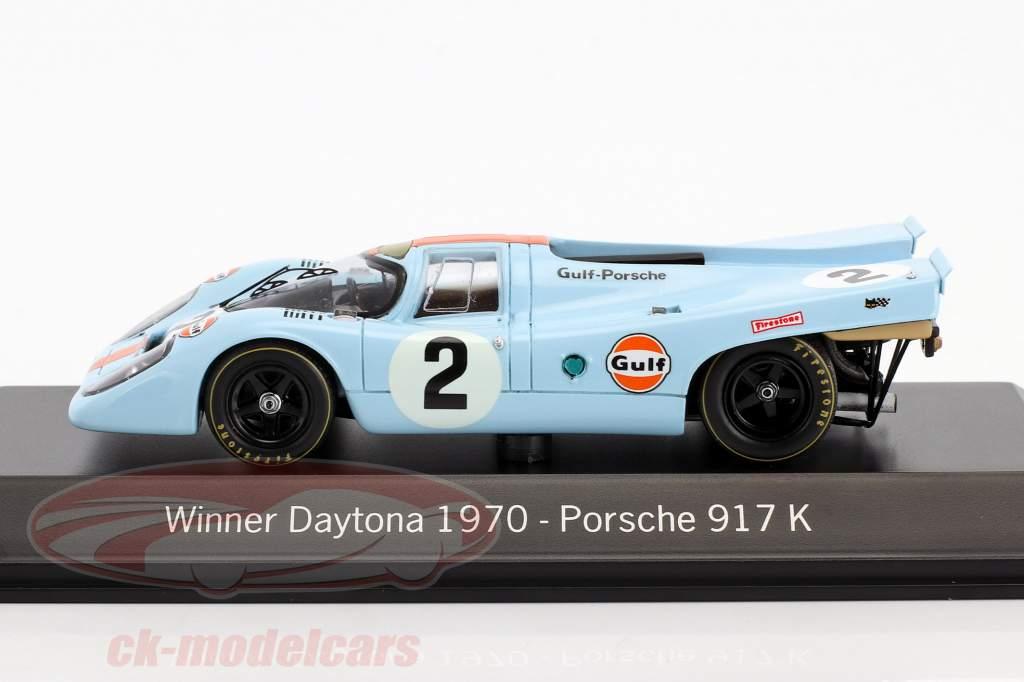 Porsche 917K #2 Winner 24h Daytona 1970 Rodriguez / Kinnunen / Redman 1:43 Spark