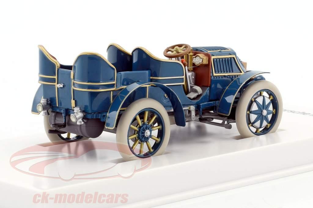 Lohner - Porsche Mixte bil Opførselsår 1901 blå 1:43 Porsche Museum