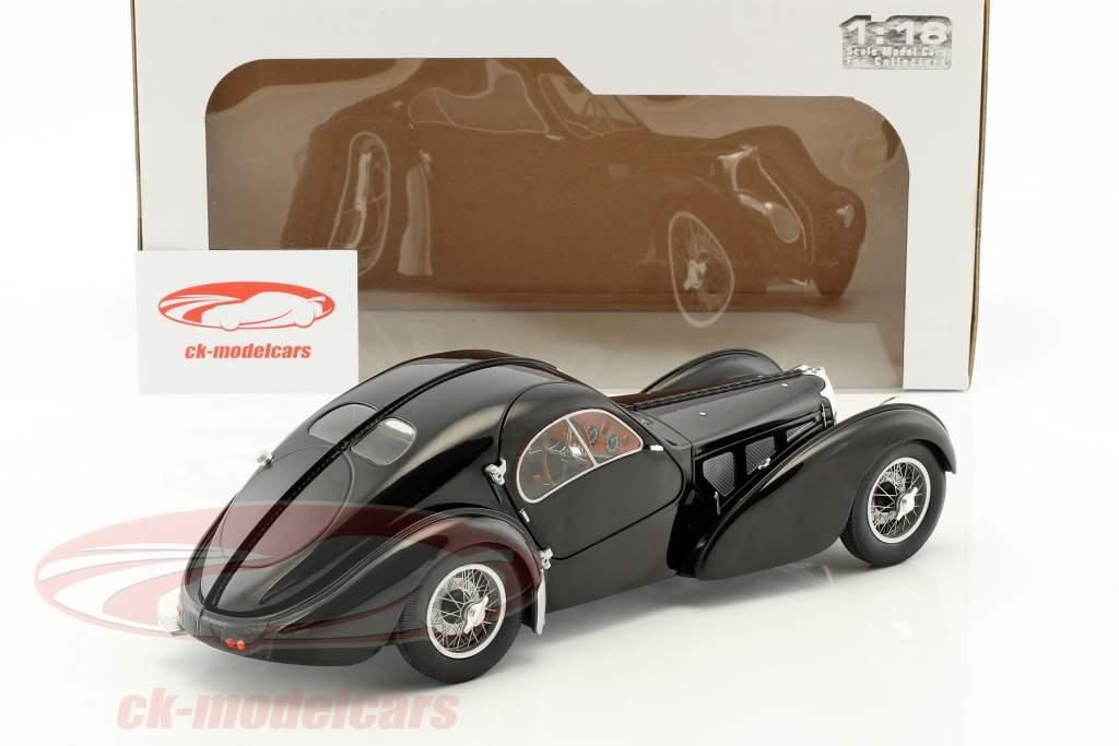 Bugatti Type 57 SC anno di costruzione 1938 nero 1:18 Solido