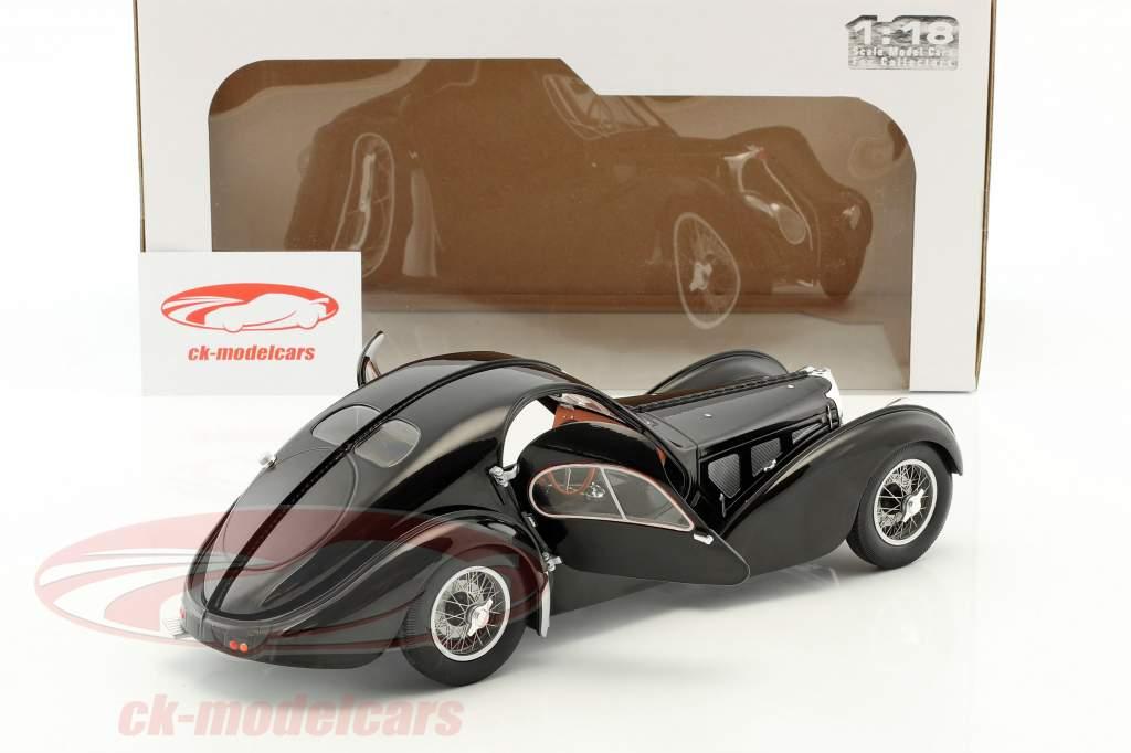 Bugatti Type 57 SC Baujahr 1938 schwarz 1:18 Solido