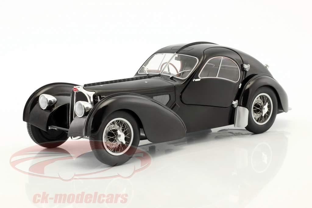 Bugatti Type 57 SC year 1938 black 1:18 Solido