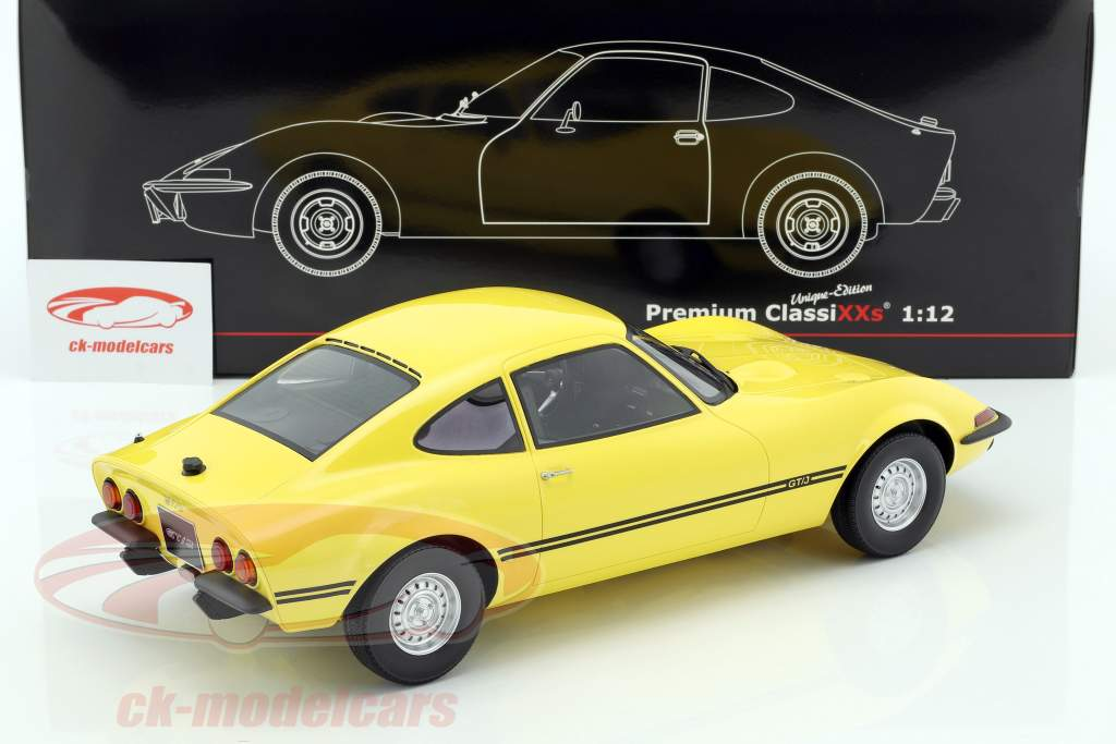 Opel GT/J Junior giallo 1:12 Premium ClassiXXs