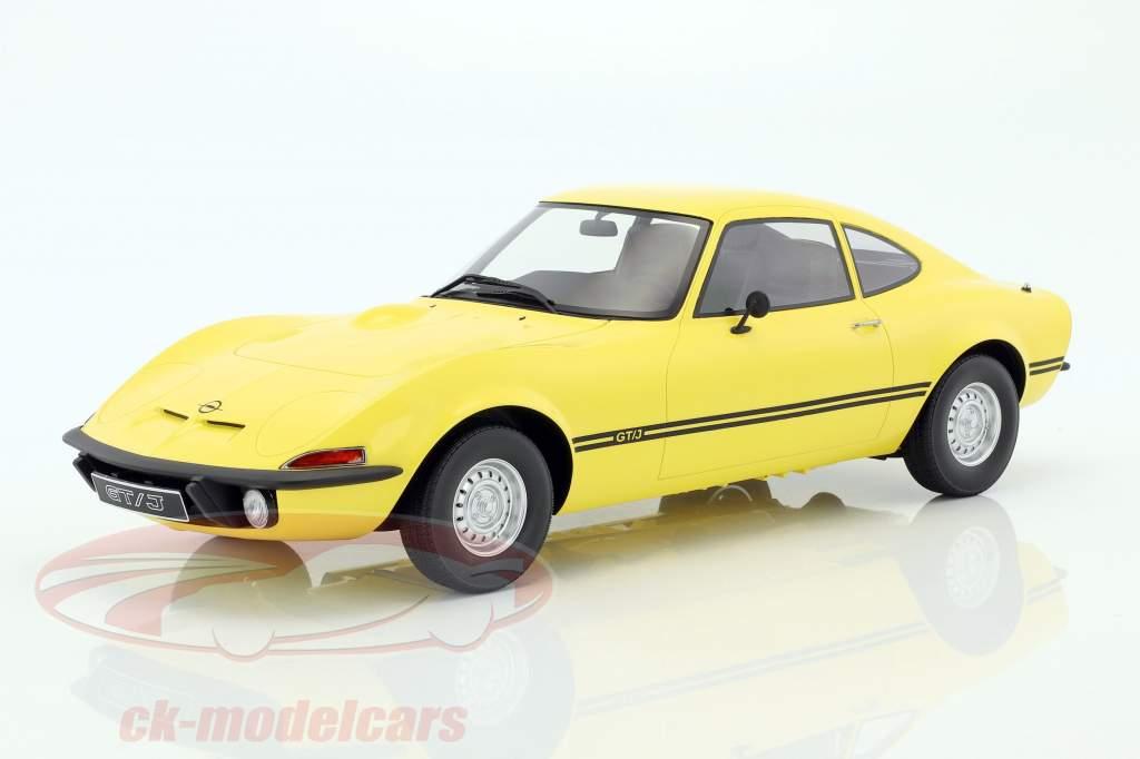 Opel GT/J Junior yellow 1:12 Premium ClassiXXs