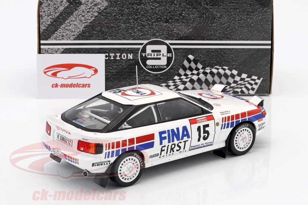 Toyota Celica GT-4 #15 4e Tour de Corse 1991 Duez, Wicha 1:18 Triple9