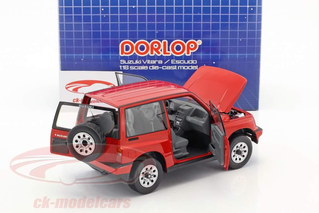 Suzuki Vitara / Escudo LHD rosso 1:18 Dorlop