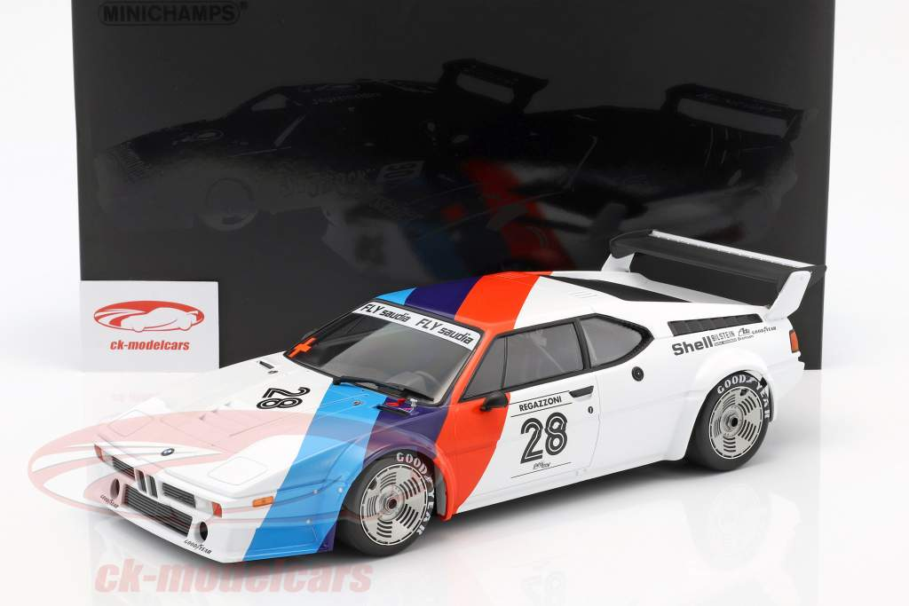Clay Regazzoni BMW M1 Procar #28 3 ° BMW M1 Procar Series 1979 1:12 Minichamps