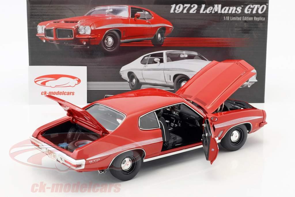 Pontiac LeMans GTO anno di costruzione 1972 rosso 1:18 GMP