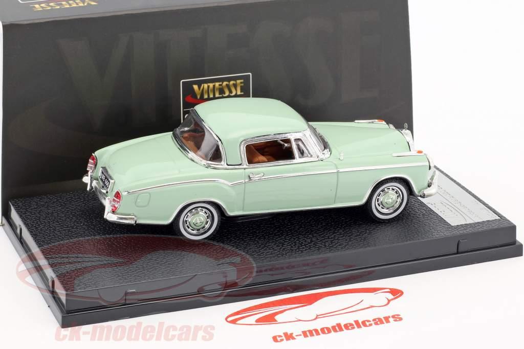 Mercedes-Benz 220 SE Coupe Baujahr 1958 hellgrün 1:43 Vitesse