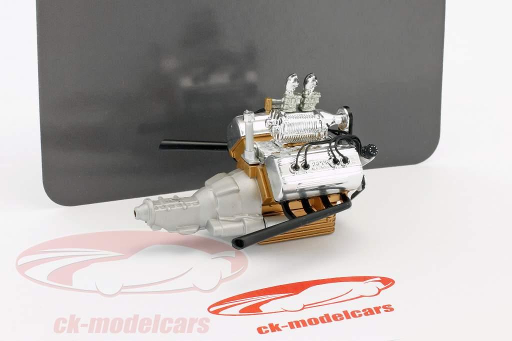 Hot Rod motore e trasmissione Ford 5 Window (A1805013) 1:18 GMP