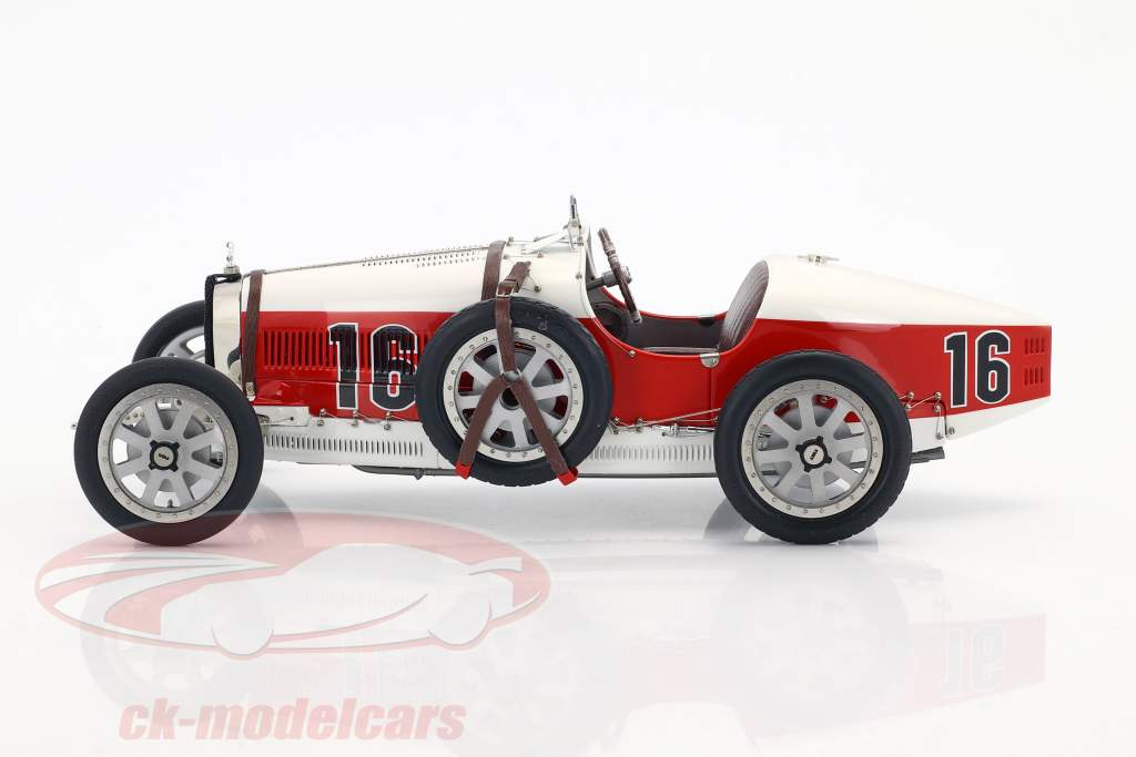 Bugatti type 35 Grand Prix #16 Nation Colour Project Monaco 1:18 CMC