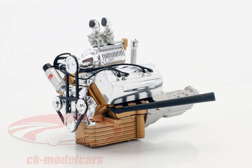 Hot Rod Motor und Getriebe Ford 5 Window (A1805013) 1:18 GMP