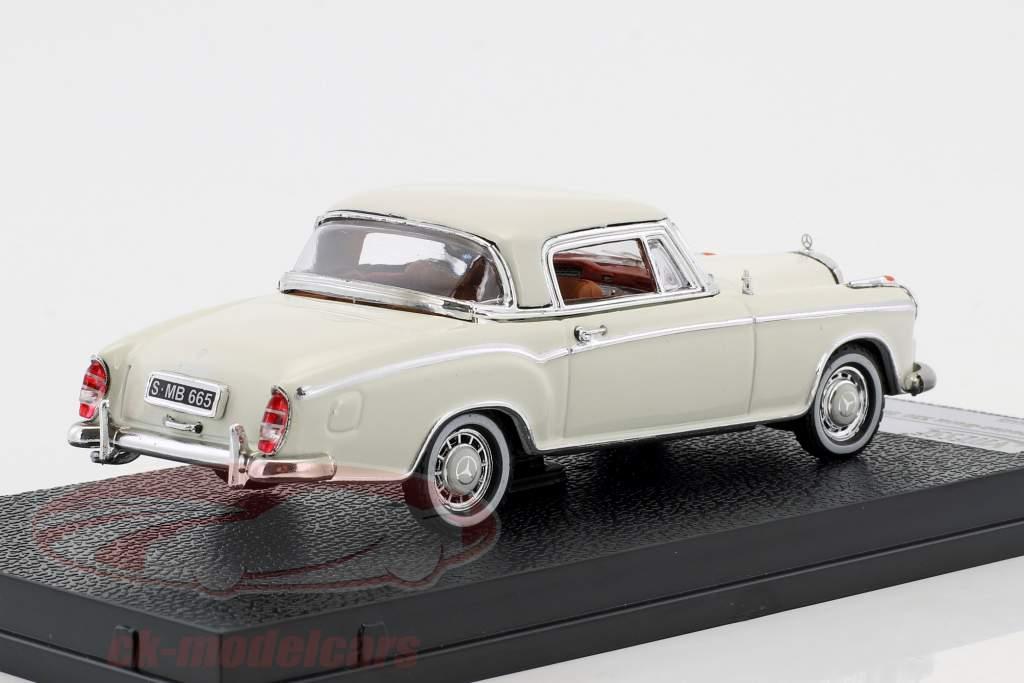 Mercedes-Benz 220 SE coupe Bouwjaar 1958 ivoor 1:43 Vitesse