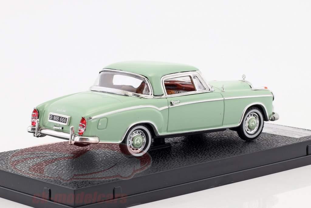 Mercedes-Benz 220 SE coupe Opførselsår 1958 lyse grøn 1:43 Vitesse
