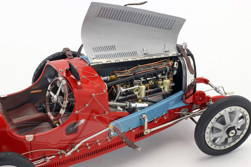 Bugatti type 35 Grand Prix #10 Nation Colour Project Chili 1:18 CMC