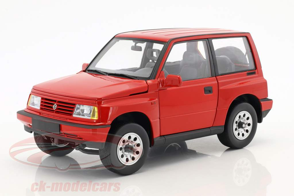 Suzuki Vitara / Escudo LHD rouge 1:18 Dorlop