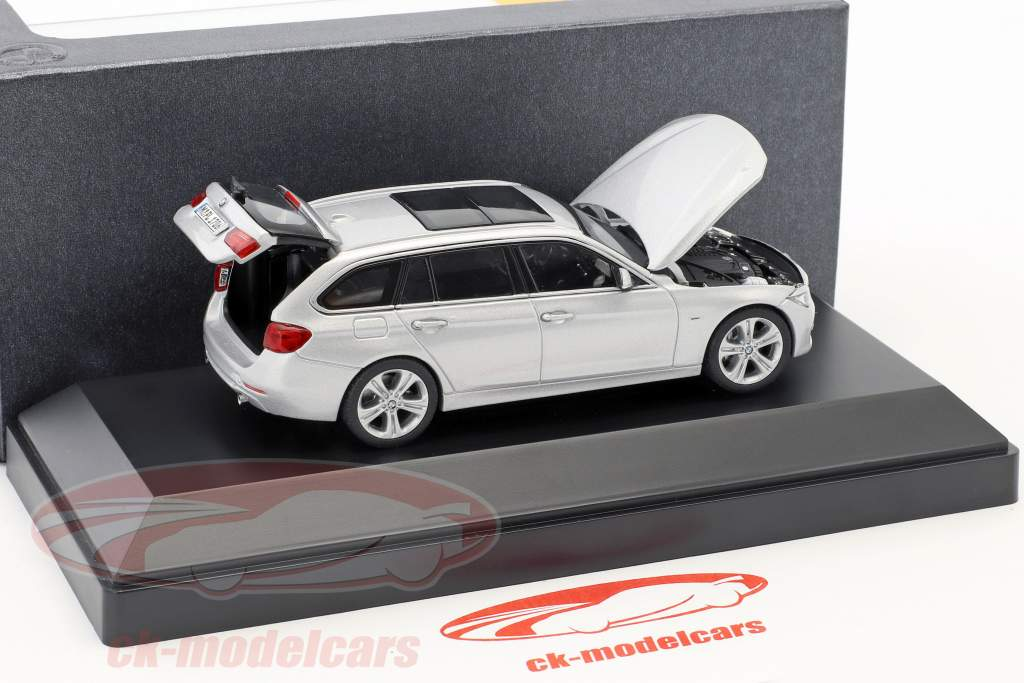 BMW 3 Series Touring (F31) year 2012 silver 1:43 Paragon Models