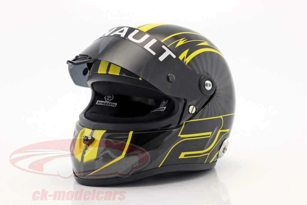 Nico Hülkenberg Renault R.S.18 formula 1 2018 casco 1:2 Schuberth