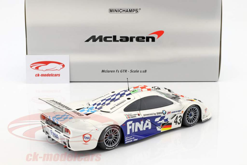 McLaren F1 GTR #43 3rd 24h LeMans 1997 Kox, Ravaglia, Helary 1:18 Minichamps