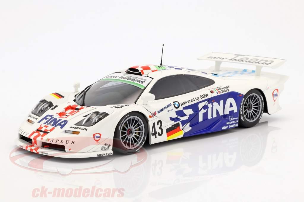 McLaren F1 GTR #43 3 24h LeMans 1997 Kox, Ravaglia, Helary 1:18 Minichamps