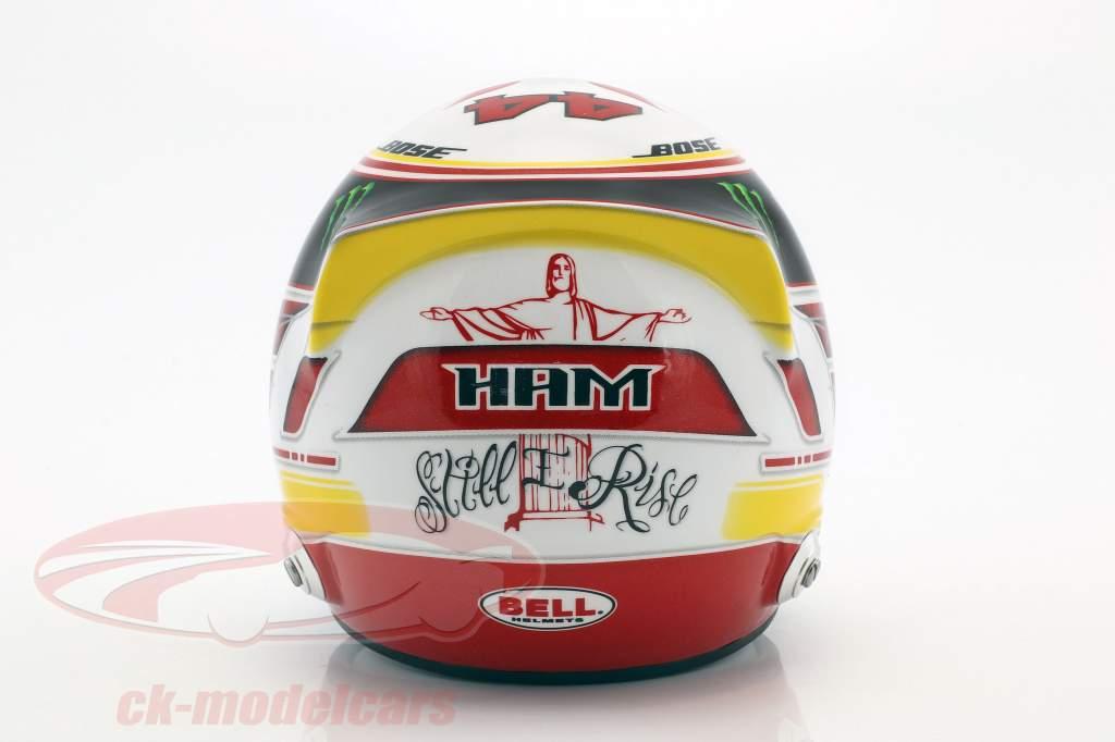 Lewis Hamilton Mercedes GP formula 1 2018 helmet 1:2 Bell